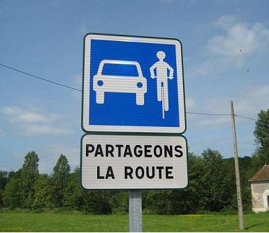 Partageons la route