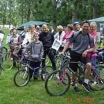 Sortie vélo à Saint-Prest