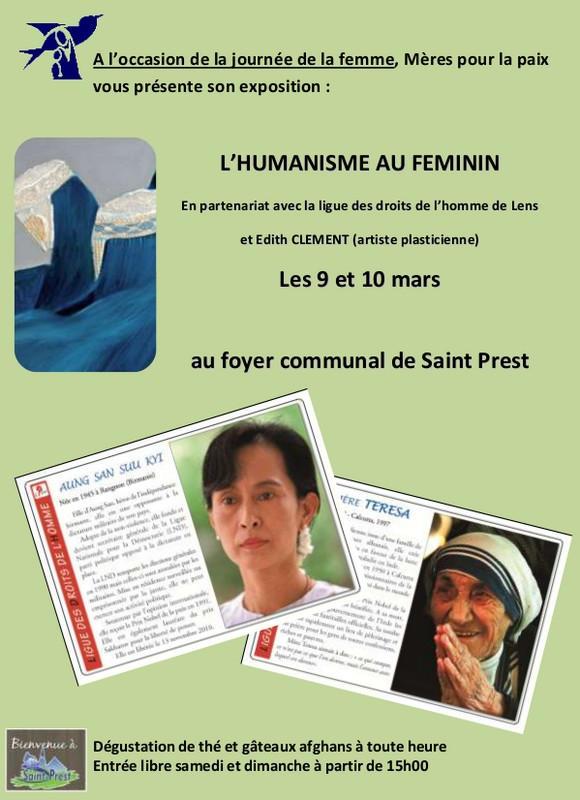 Affiche Journée de la femme