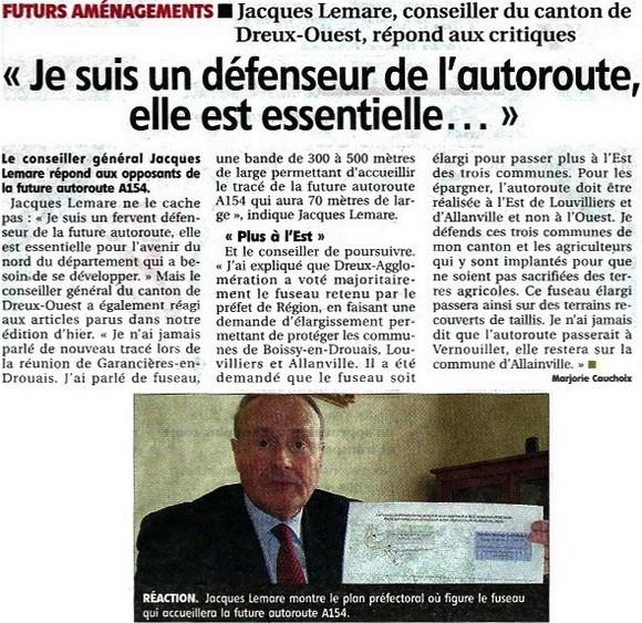 Image article Réponse de Jacques Lemare