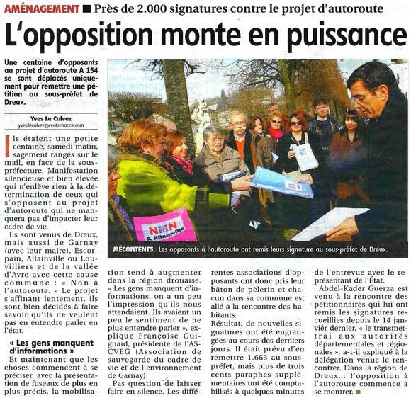 Image A154 - L'opposition monte en puissance