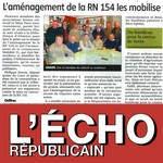Vignette Aménagement RN154 mobilise