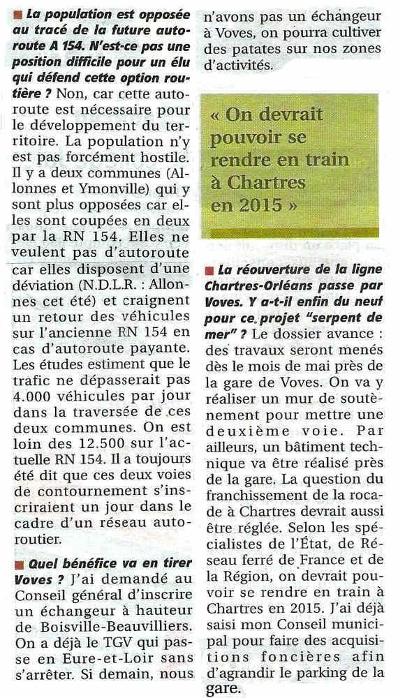Article Echo Républicain du 08/04/2013