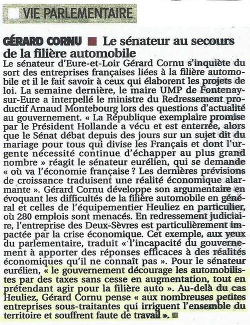 Article Gérard Cornu