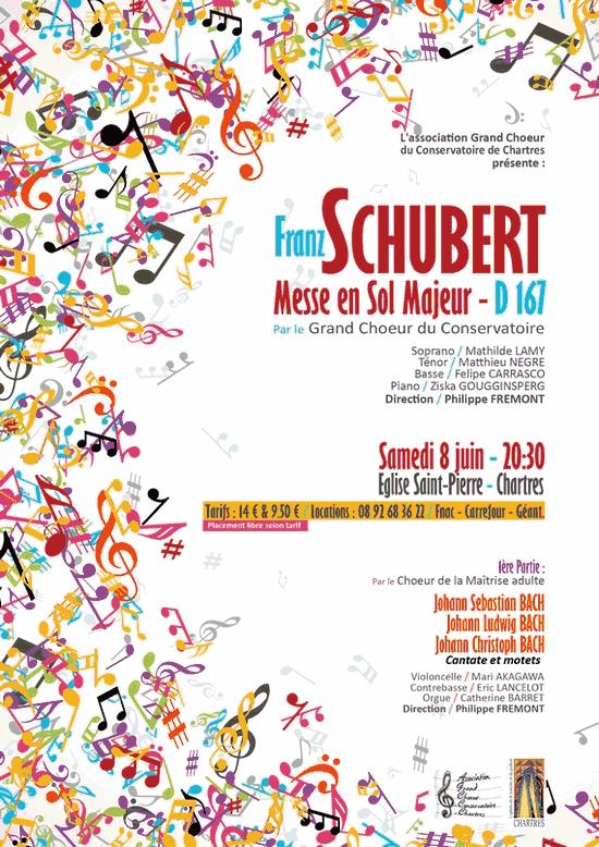 Affiche Concert Schubert
