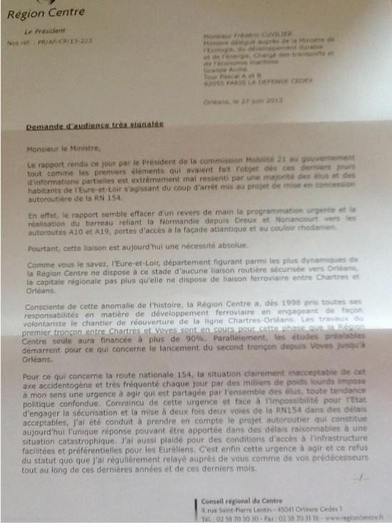 Part 1 - Lettre François Bonneau