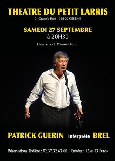 Patrick GUERIN interprète BREL