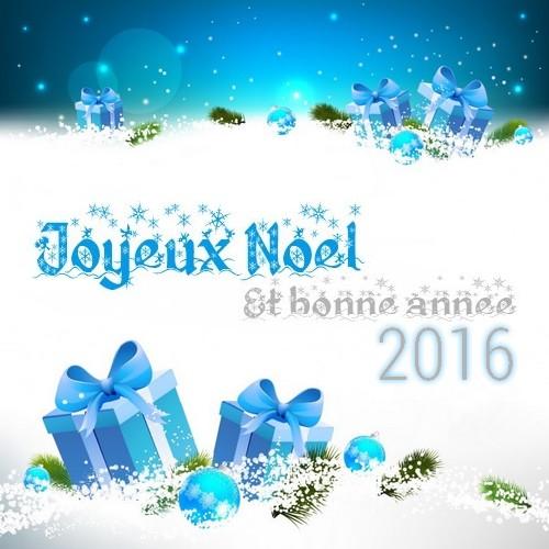 Joyeux Noël & Bonne Année 2016