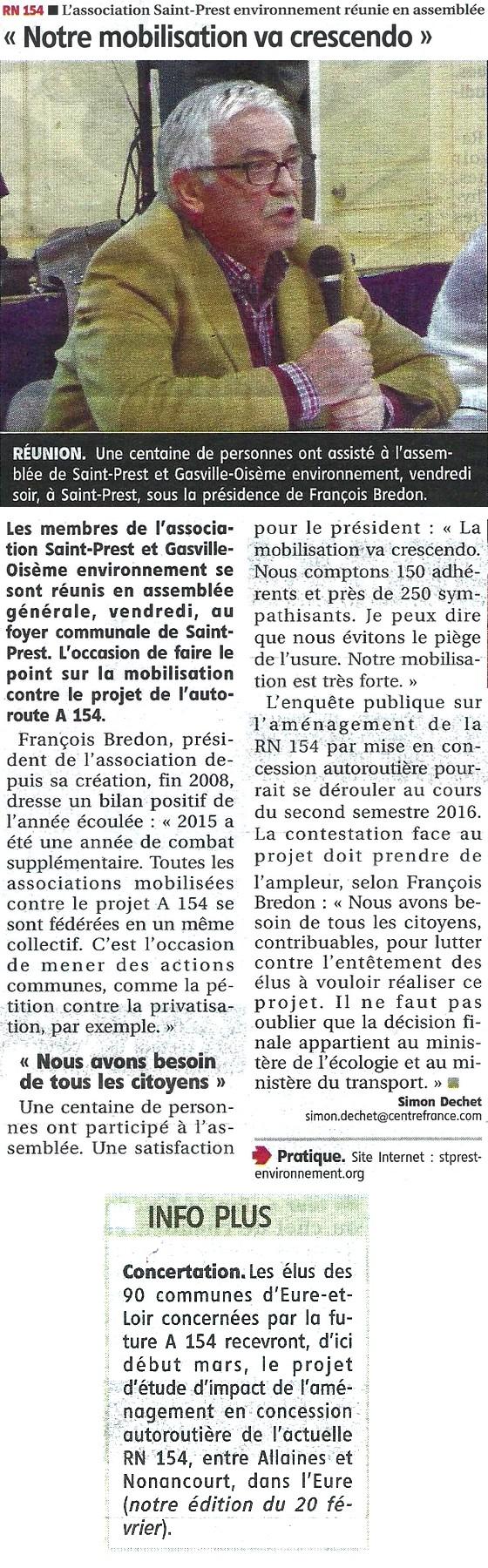 AG Saint-Prest Environnement 2016