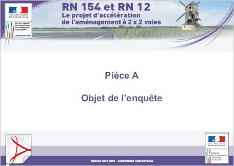 Pièce A - Objet de l'enquête (Version mars 2016 - Concertation inter-services)