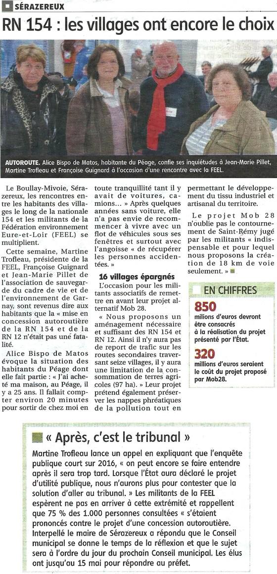 A 154 - les villages ont encore le choix