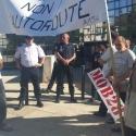 Manifestation prefecture Chartres
