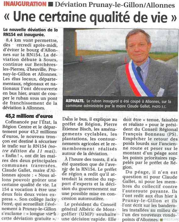 Photo Article Inauguration