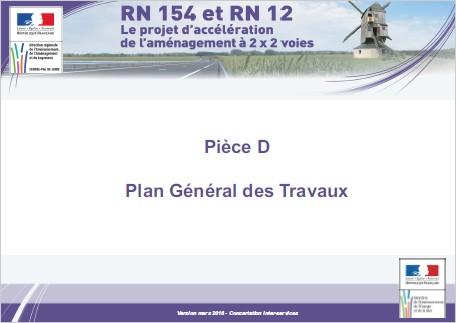 Pièce D - Plan Général des Travaux